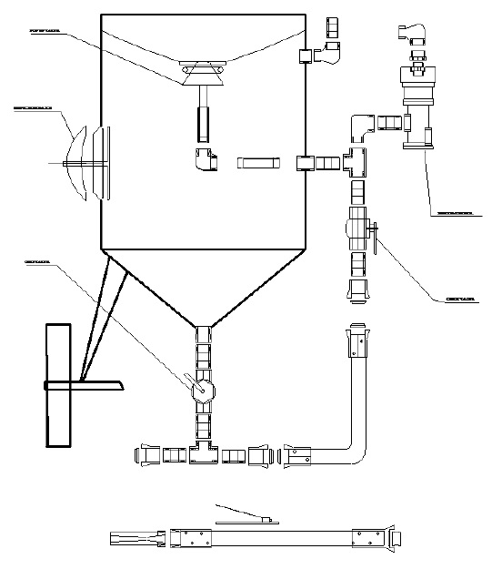 sand point well diagram